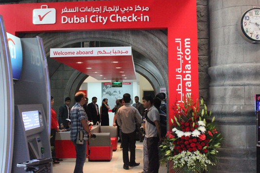 First air arabia city terminal check in opens in dubai airline travel news - Air arabia sharjah office ...