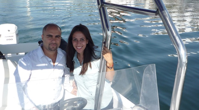 Basel and Nour - the team behind Scylla35