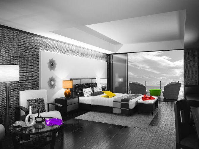 современный дизайн зала фото 2014