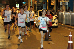 one night in Bangkok - Midnight Run Marathon