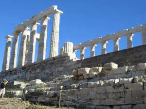 The Temple of Poseidon Athens